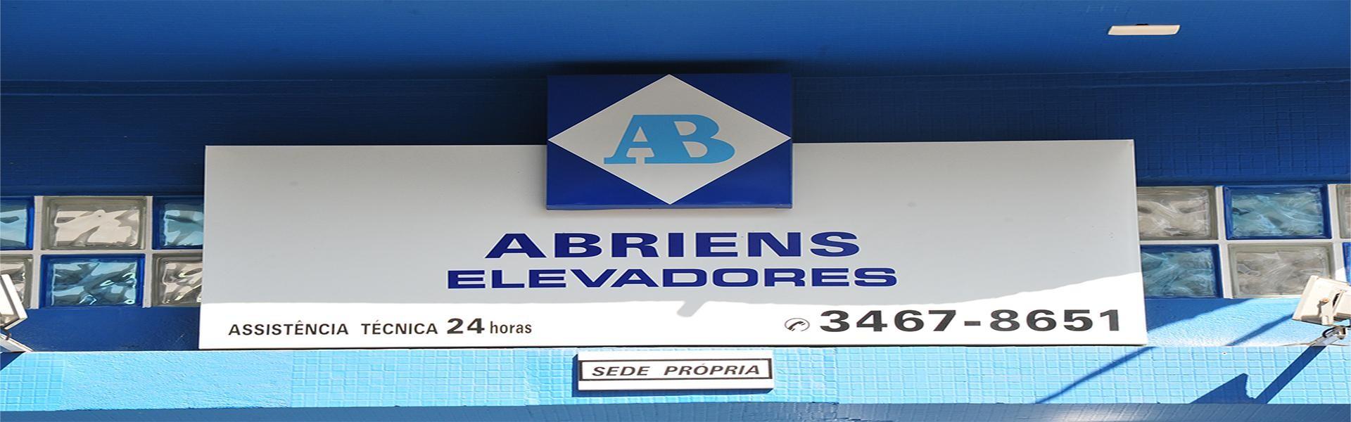 Bem Vindos a AB - ABRIENS ELEVADORES